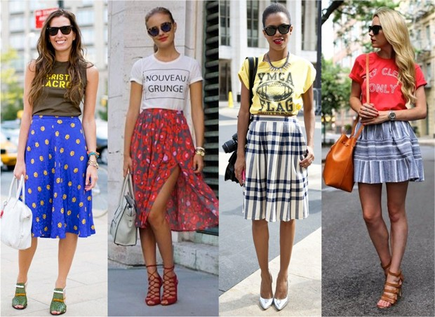 How to put together outfits tips and stylish looks with simple clothing