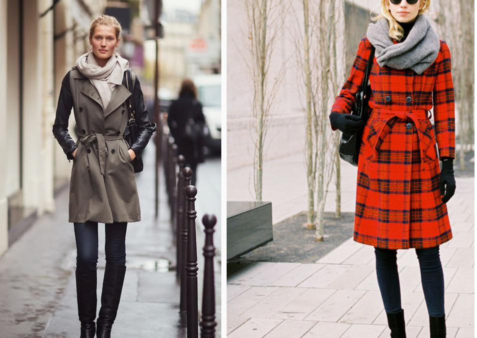 Winter Trench Coat: Various Ways to Wear It